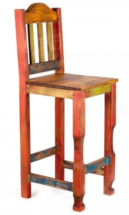 Place Rustic Bar Stools inside Your Bar to Make the Place Trendy